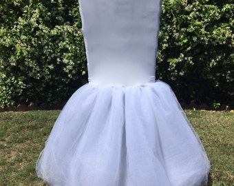 Tutu chiavari chair cover, chair cover, wedding, baby shower, bridal, quinceañera, tulle, wedding chair cover, all colors available