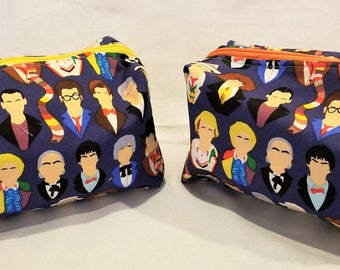 Dr Who Boxy Bags