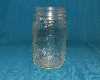 Vintage Jumbo Peanut Butter Jar