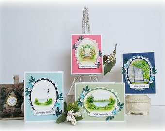 Card Kits subscription/ DIY Cards/ Greeting Cards/ Cards to Make/ DIY Crafts/ Birthday Card Kits/ All Occasion Card Kits/ Precut Card Kits/