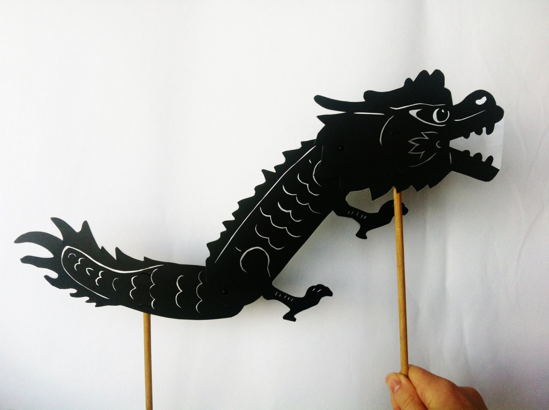 Dragon Shadow Puppet