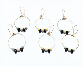Earrings - MOON