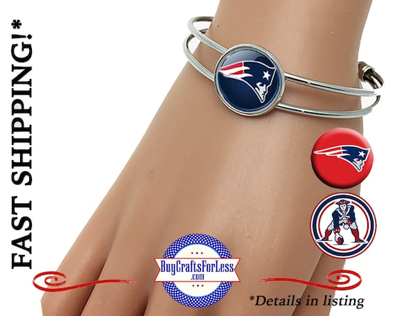 FAST SHiP **NeW ENGLaND CUFF BRACELET, 3 DESiGNS +99cent SHIiPPiNG & Discounts*