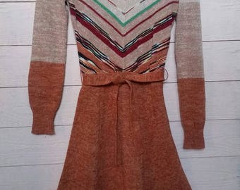 70's Sweater Dress by Mother Nature by Arpeja S