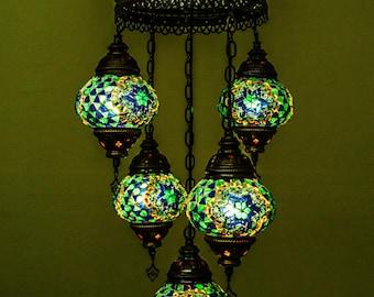 Moon lamp shade etsy mosaic lamp moon lamp roman shades moroccan lighting turkish lamps night aloadofball Choice Image