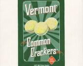 Common Crackers. Original egg tempera illustration from 'The Taste of America' book.