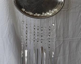 Silver Platter Windchime