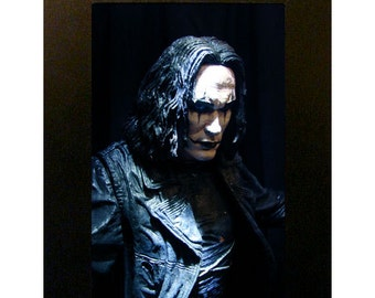 """The Crow Toy Photograph 4"""" x 6"""" Framed Eric Draven"""