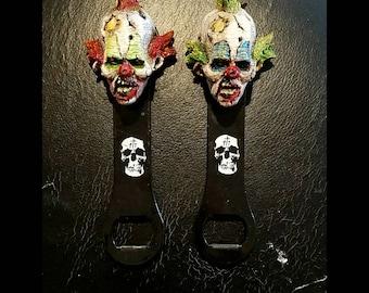 zombie clown bottle opener