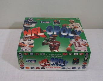 Vintage NFL-Opoly Board Game - Game of Champions