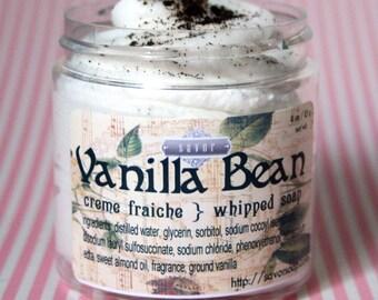 Savon vanille 4 oz Chantilly savon Mini Creme Fraiche échantillon d'essai taille VEGAN