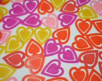 Heart Shaped Paper Clips 8 pack / heart clip / valentines day / anniversary / love clip / paper clip / unique valentine