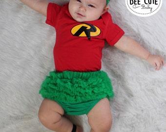 baby girl robin ...  sc 1 st  Etsy & Baby robin costume | Etsy