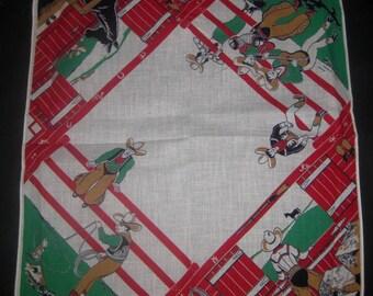 Two Vintage Cowboy Handkerchiefs