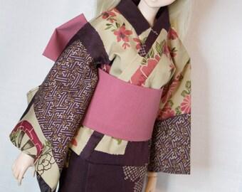 Purple & Pink Kimono