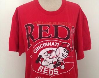 Vintage Cincinnati Reds 1996 tshirt