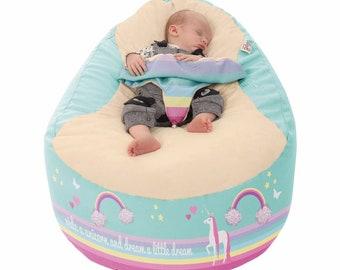 UNICORN GAGA™+ Baby bean bag to toddler