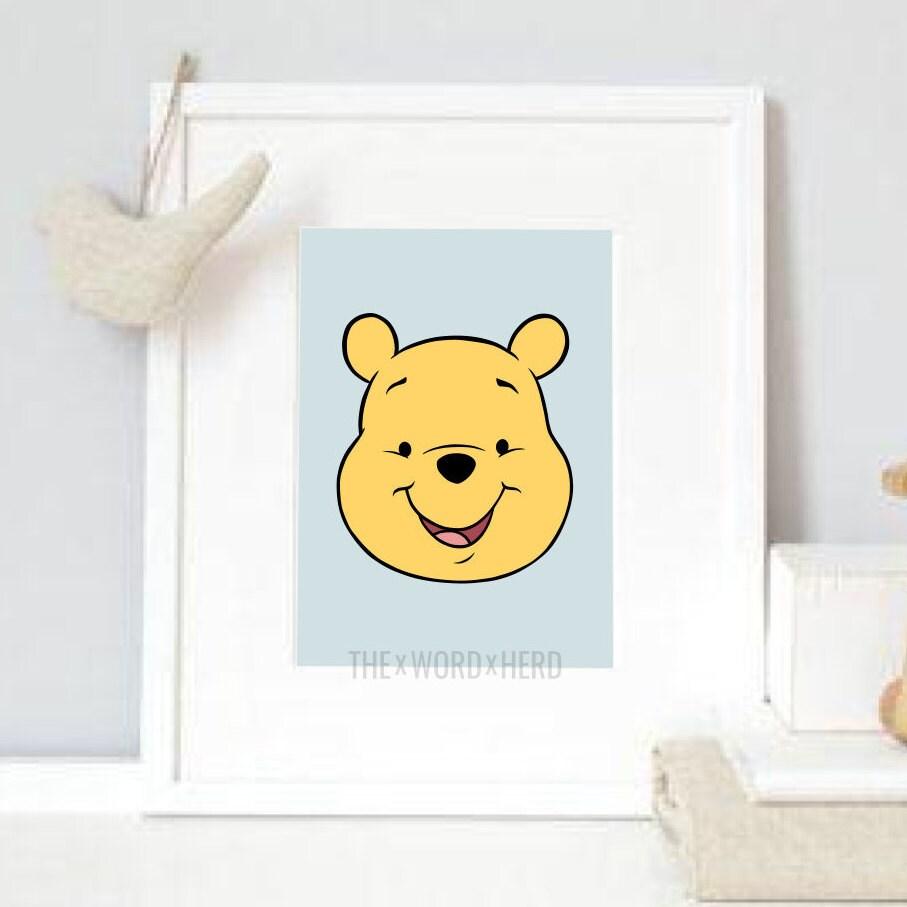 Winnie The Pooh Nursery Printable Wall Art