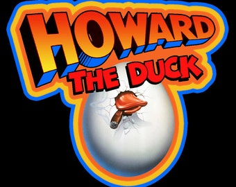 Howard The Duck Vintage Image T-shirt
