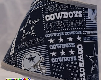 Nfl baltimore ravens fabric lamp shade 10 sizes to choose nfl dallas cowboys fabric lamp shade 10 sizes to choose from mozeypictures Image collections