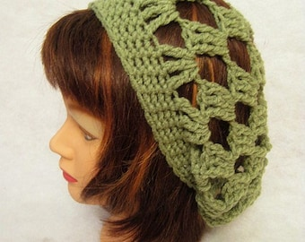Green Slouch Hat, Green, adult slouch hat, crochet slouch hat, crochet slouchy hat, green slouchy hat, summer hat, spring hat, slouchy, gift