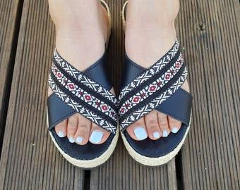 Handmade Sandals, Greek Sandals, Leather Sandals, Boho Sandals