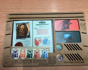 Eldritch Horror-player's board