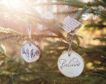 Handmade Wooden Ornaments/Decorative Tags