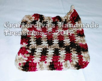 Trivet, Potholder, Kitchen Decor, Handmade Trivet, Handcrocheted Trivet