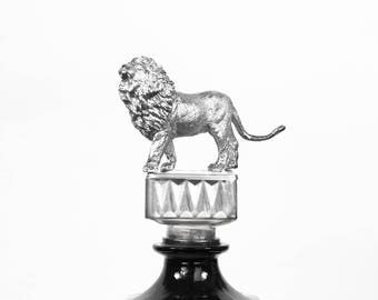 Lion water bottle Black/Silver®