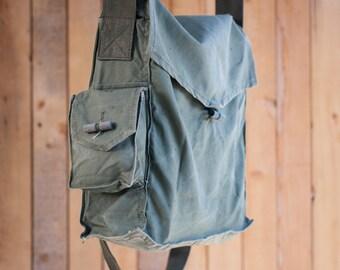 Canvas crossbody bag soviet army bag messenger bag canvas bag canvas backpack military bag military backpack canvas crossbody bag vintage