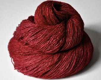 Hot desire - Tussah Silk Lace Yarn