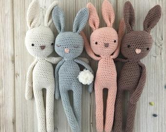 Bunny, crochet toys, crochet bunny, crochet toy, baby bunny, easter bunny, brown rabbit, child gift, newborn birth gift, bunny, newborn prop