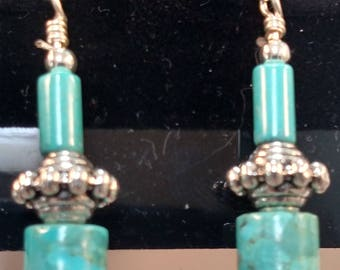 53-Turquoise Earrings