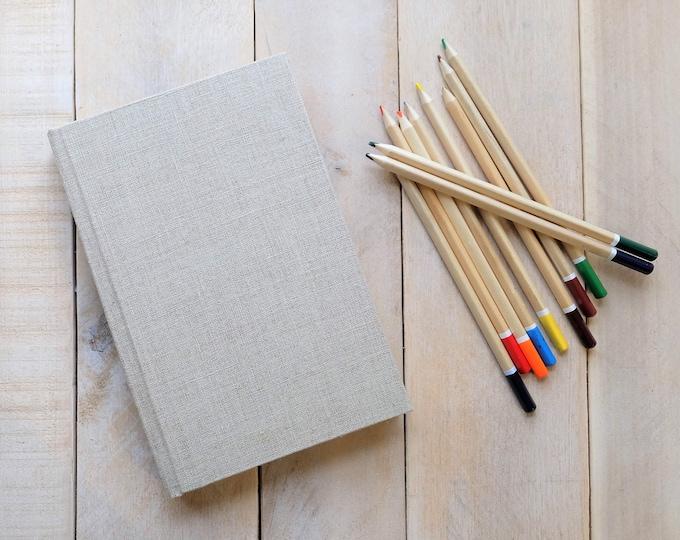 Large Linen Sketchbook