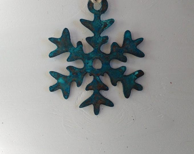"Patina ""Elsa"" Snowflake"