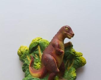Vintage Plastic SOMA T-Rex Dinosaur Bank 1987