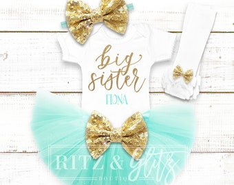 Big Sister Outfit | Big Sister Shirt | Baby Shower Gift | Matching Sister Shirts | Pregnancy Announcement Shirt | Big Sister Little Sister