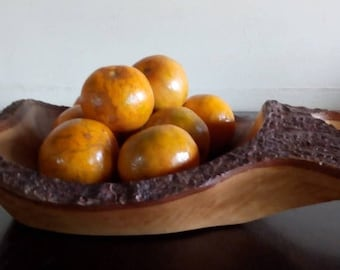 Fruit tray made of Real Tamarind Wood,Wood decors,Home decors,Wood Furnitures Handmade