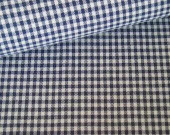 Gingham of blue 2, 5 mm