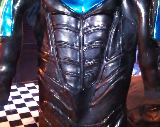 Nightwing Arkham City Armored Full Suit