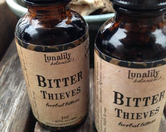 Bitter Thieves herbal bitters