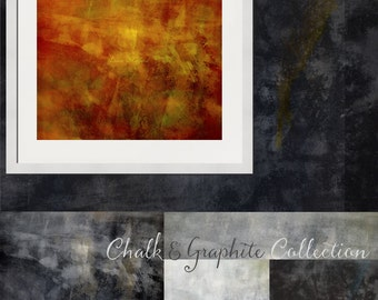 Chalk and Graphite Fine Art Textures, Photoshop Textures