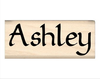 Ashley - Name Rubber Stamp for Kids