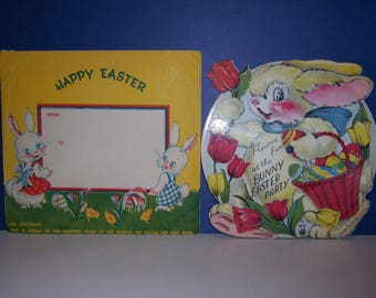 Vintage Easter Children's Record, The Bunny Easter Party, VOCO INC, 1948