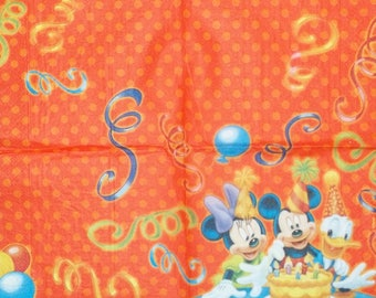220 MICKEY 1 lunch size paper towel