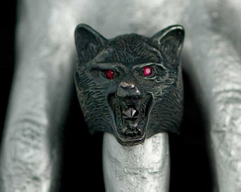 The Howl Ring in Sterling Silver