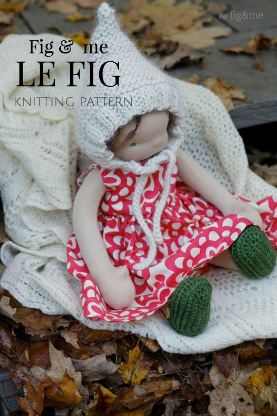 Knitting Pattern, Doll Hat, Waldorf Inspired Doll Clothing, Gnome ...