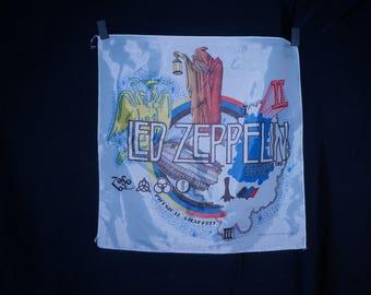 1980 Led Zeppelin mini tapestry by Nikry Novelties