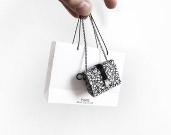 Coco Parisian Patterned handbag
